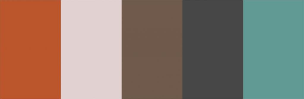 Ejemplo de colores que marcan tendencia en Instagram 2020